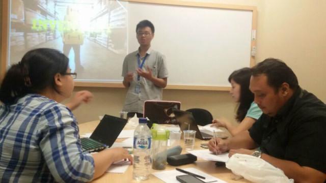 tes mengajar calon asistens lab akuntansi Binus University 2014