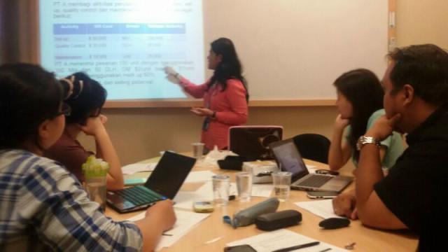 test mengajar calon asisten lab akuntansi Binus Univesity