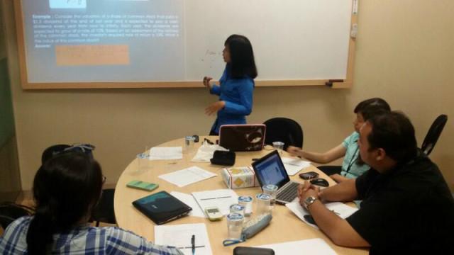 test mengajar calon asisten lab akuntansi Binus University