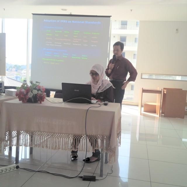 Seminar audit di Binus Unioversity
