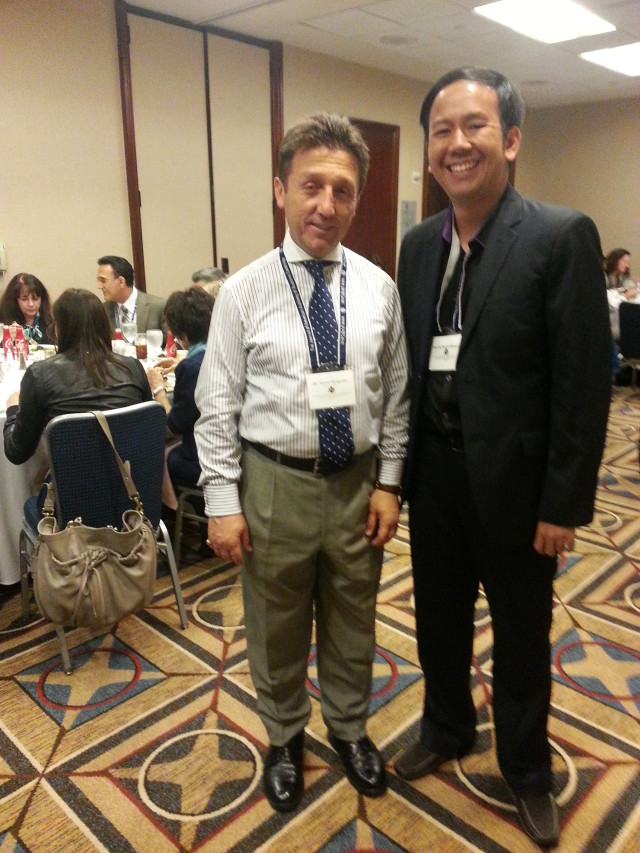 Conf MSM_bersama conference chair Dr. Turan Senguder
