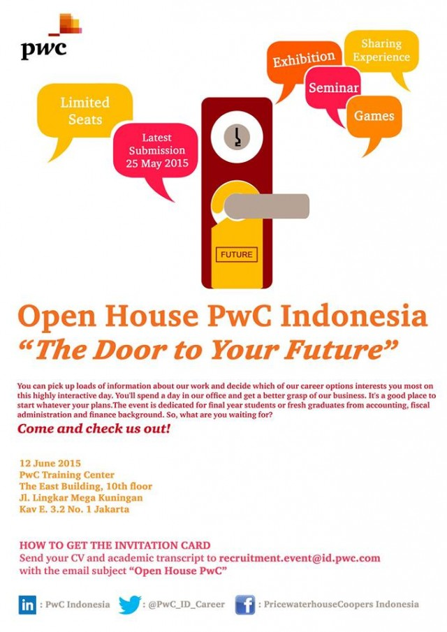 Open House PwC Indonesia