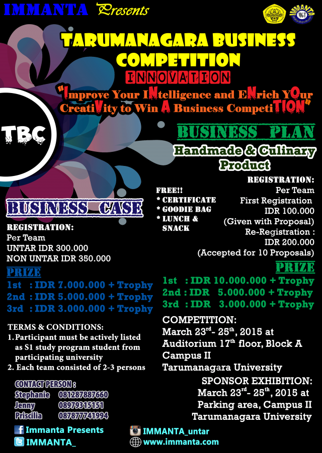 Poster_Tarumanagara_Business_Competition
