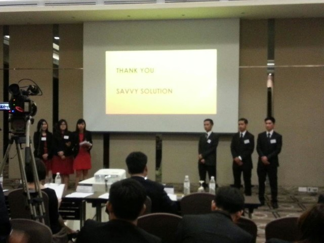 ICAEW Business Challenge_Savvy Solution