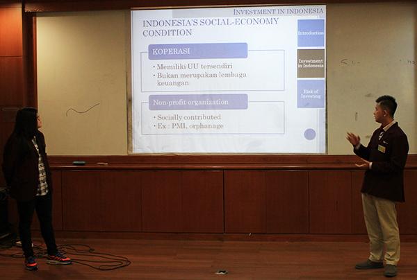 Presentasi dari Mahasiswa Binus