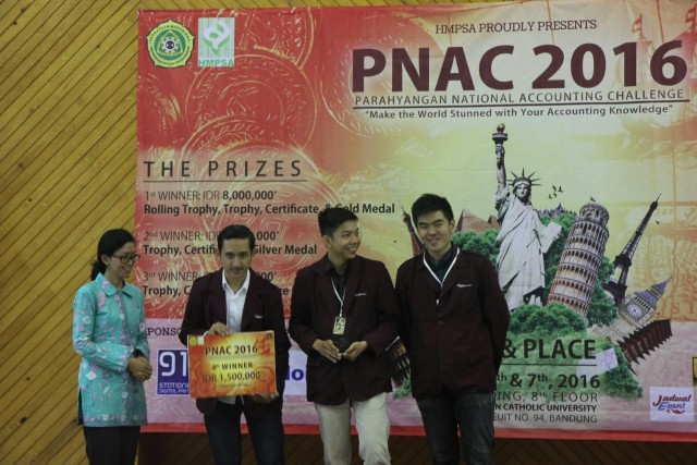 PNAC 2016_Juara 4_UNPAR