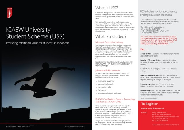 ICAEW scholarship brochure