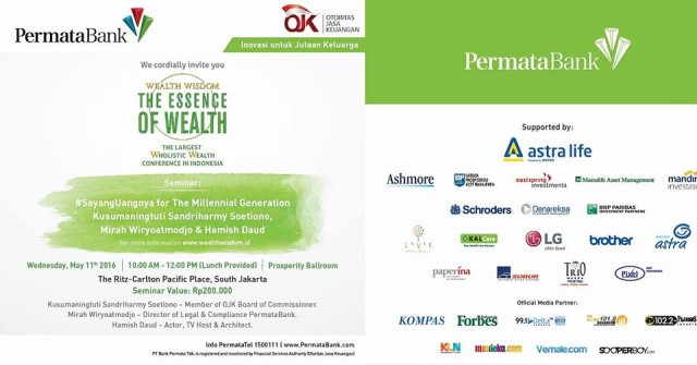 Seminar Wealth Wisdom_Permata Bank_OJK