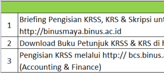 Petunjuk dan Prosedur Skripsi  Jurusan Akuntansi dan Keuangan