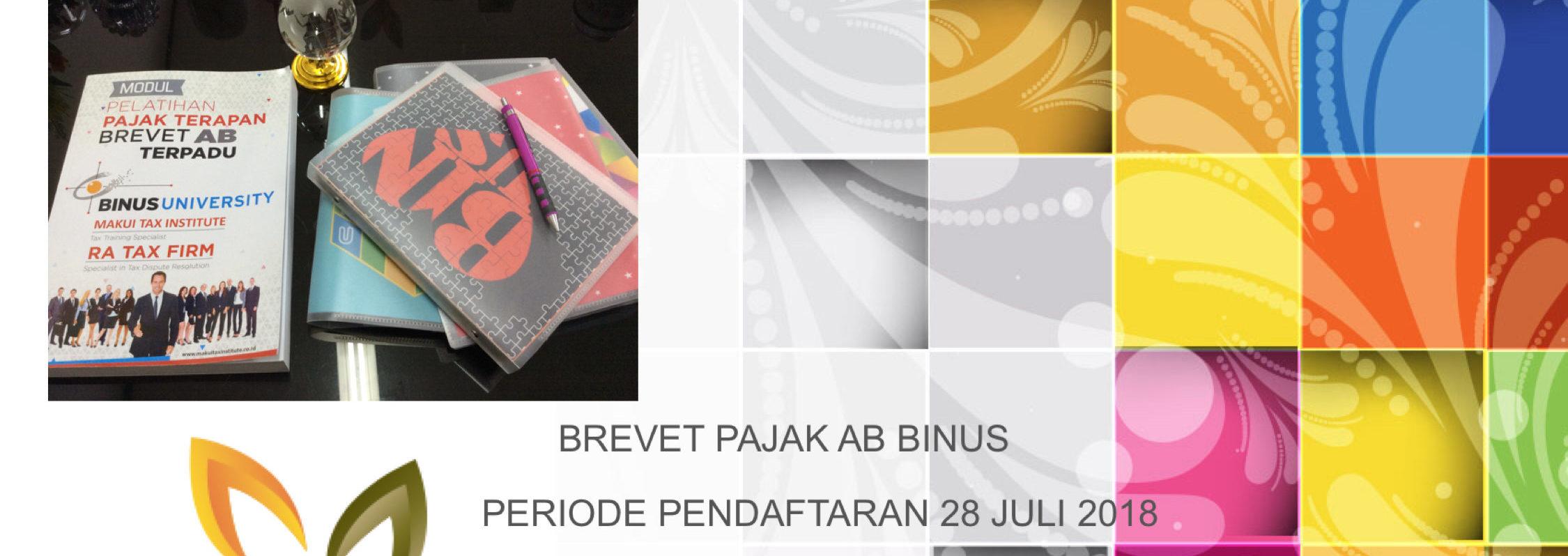 KURSUS BREVET AB PERIODE PENDAFTARAN 28 JULI 2018