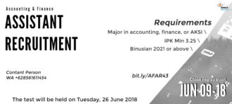 NEW Accounting and Finance Laboratory Assistant A40