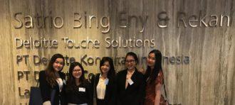 Top 5 BINUS Deloitte Ambassador 2019