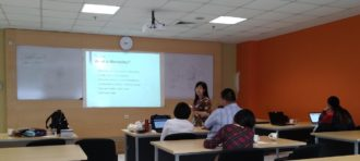 Bapak Bambang Leo Handoko Peraih BSLN Kemeristek Dikti Presentasi Hasil Penelitian di Beijing, China